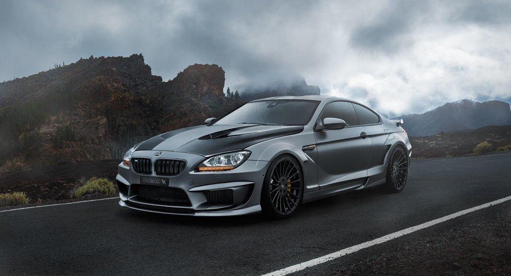 Hamann body kit for BMW M6 F13 latest model
