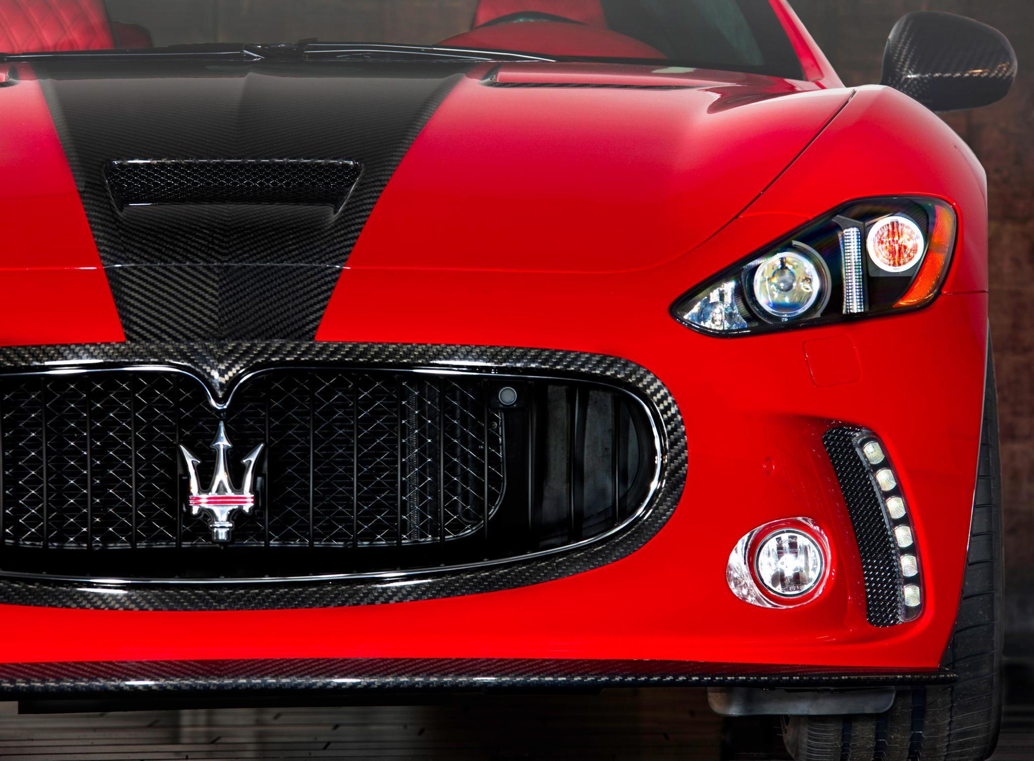 Mansory body kit for Maserati Gran Turismo  new model
