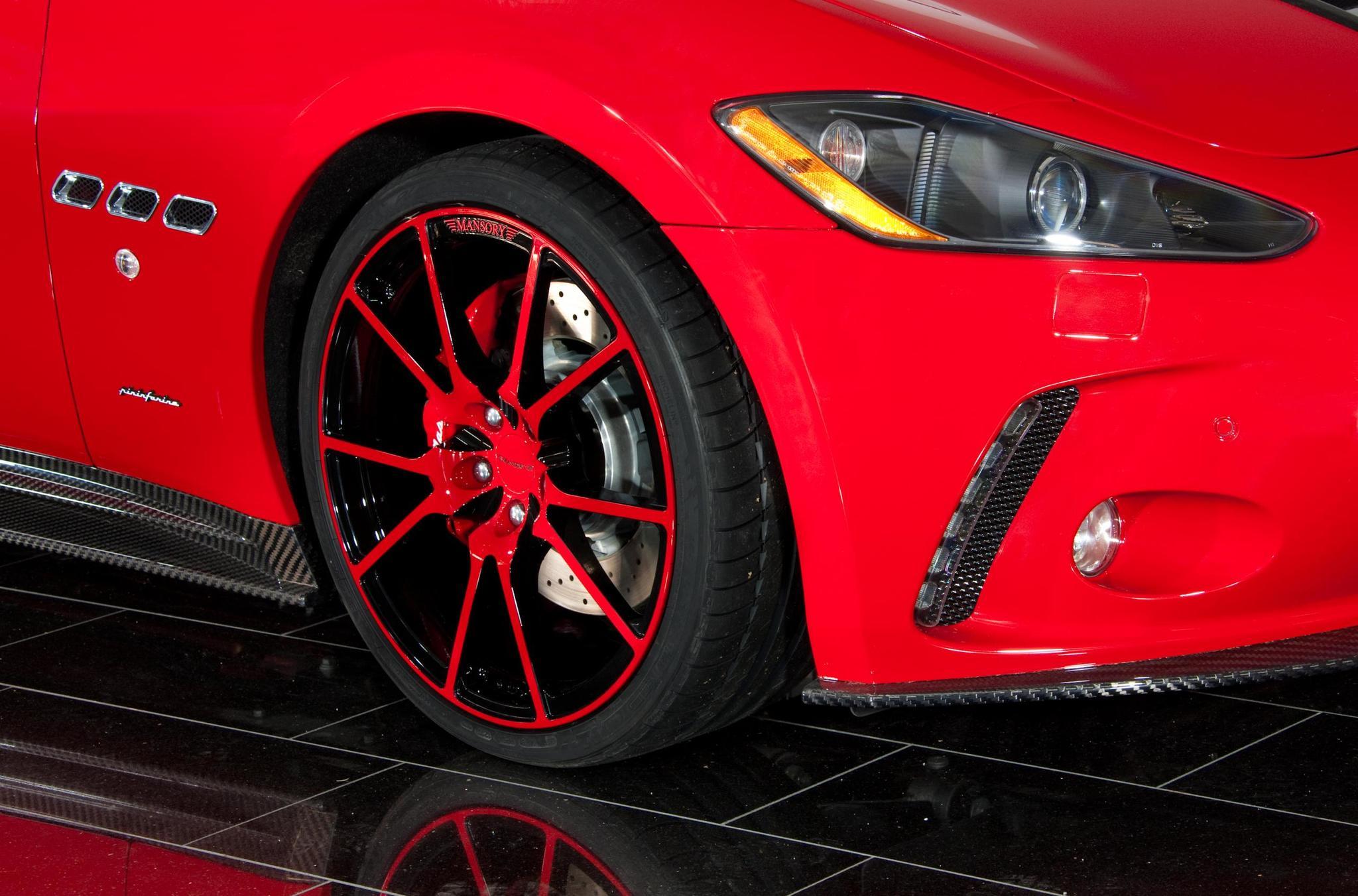 Mansory body kit for Maserati Gran Turismo carbon