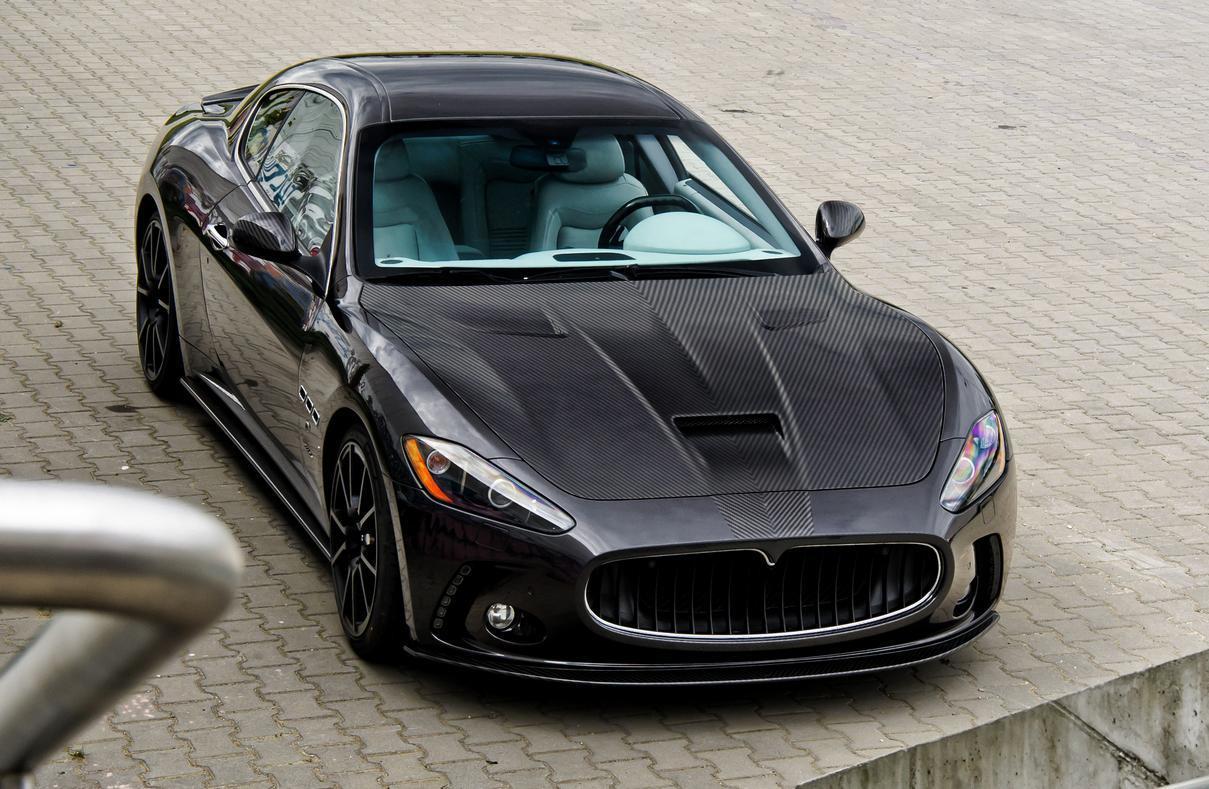 Mansory body kit for Maserati Gran Turismo latest model