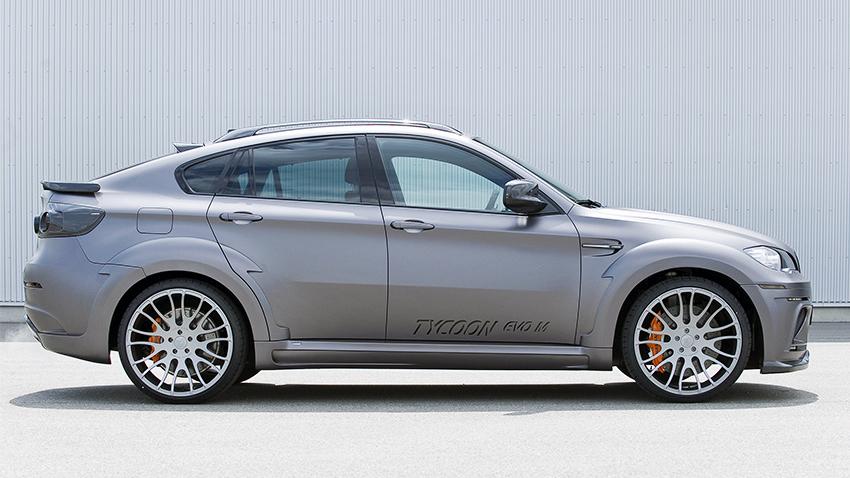 Hamann body kit for BMW X6 M E71 new model