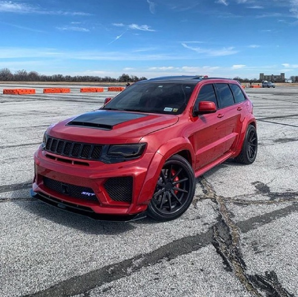 Renegade body kit for  JEEP GC TRACKHAWK TYRANNOS V3 new style