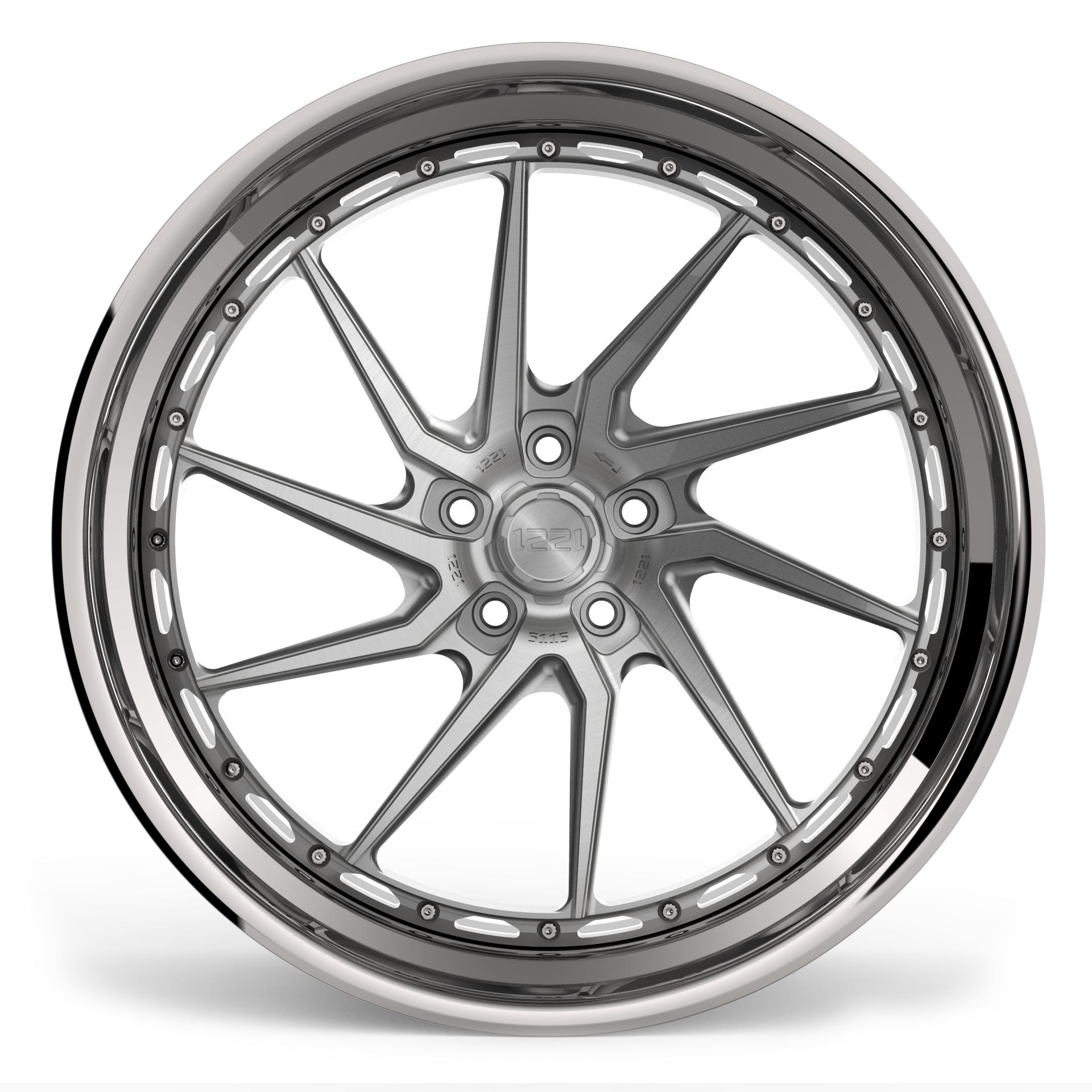 1221 Wheels R5115 AP3X APEX3.0 forged wheels