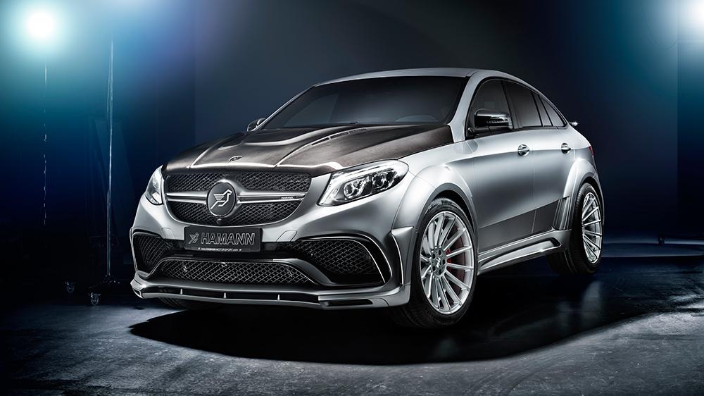 Hamann body kit for Mercedes GLE 63 S new model