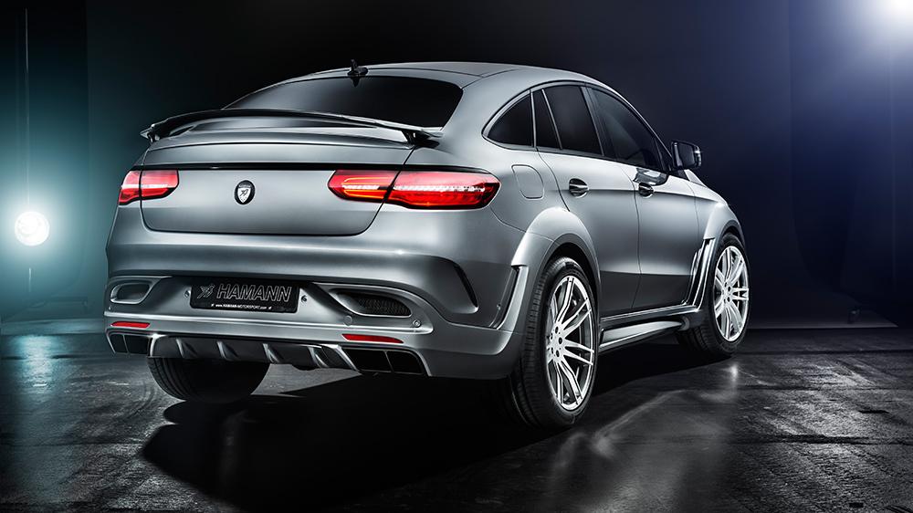 Hamann body kit for Mercedes GLE 63 S latest model