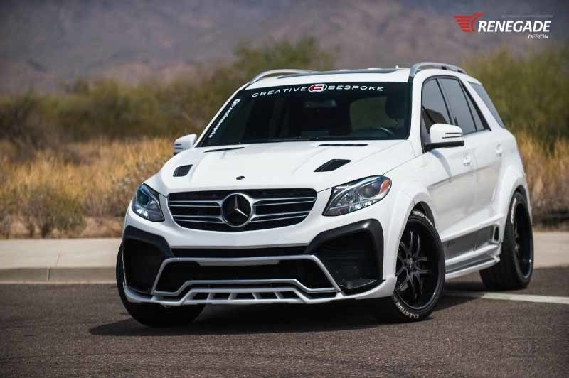 Renegade body kit for Mercedes-Benz GLE new style