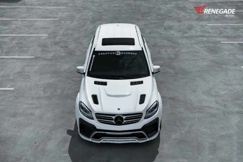 Renegade body kit for Mercedes-Benz GLE latest model