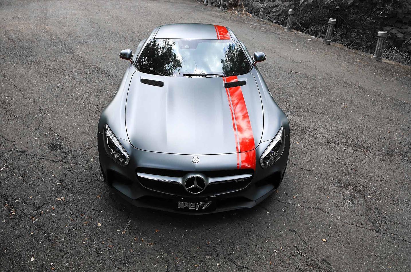 IPE exhaust system for Mercedes-Benz GT / GT S / GT C (Roadster / Coupé (C190 / C120)