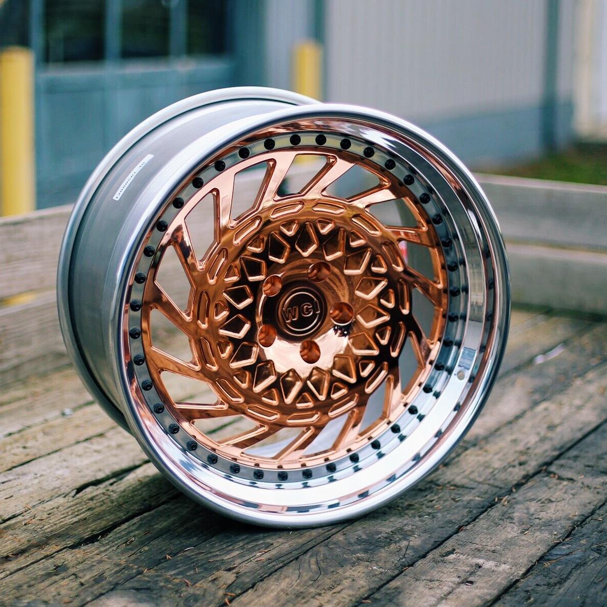 WATERCOOLED BP1 forged wheels