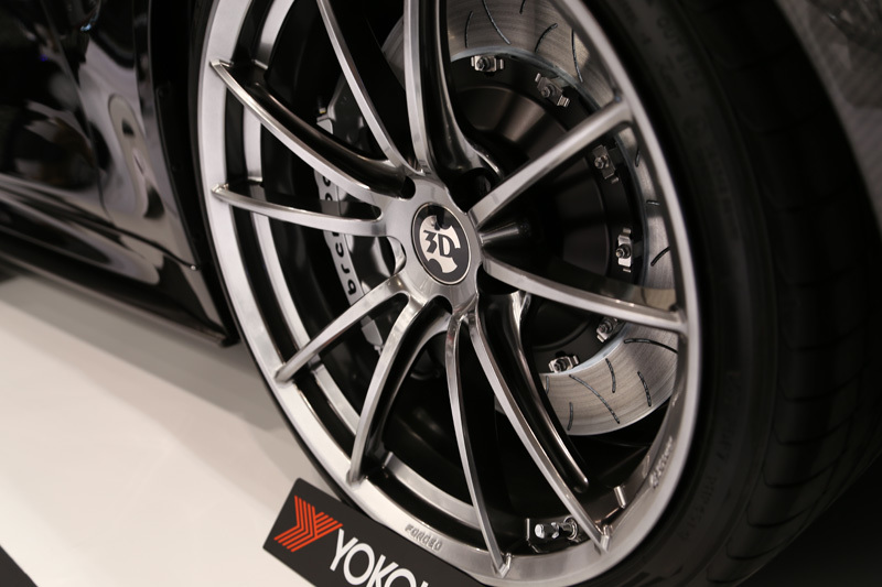 3D Design Anniversary 01 forged wheels