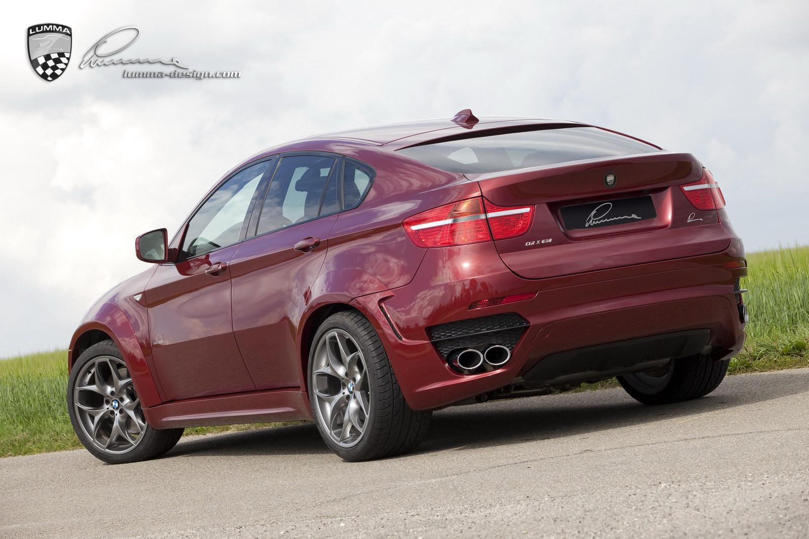LUMMA CLR X 650 BODY KITS FOR BMW X6 50I E71 2020
