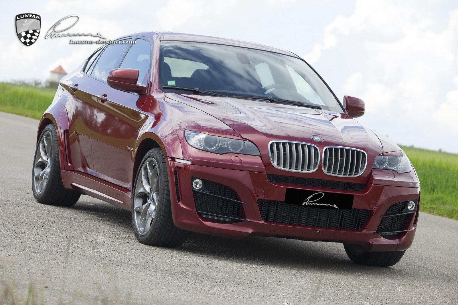 LUMMA CLR X 650 BODY KITS FOR BMW X6 50I E71
