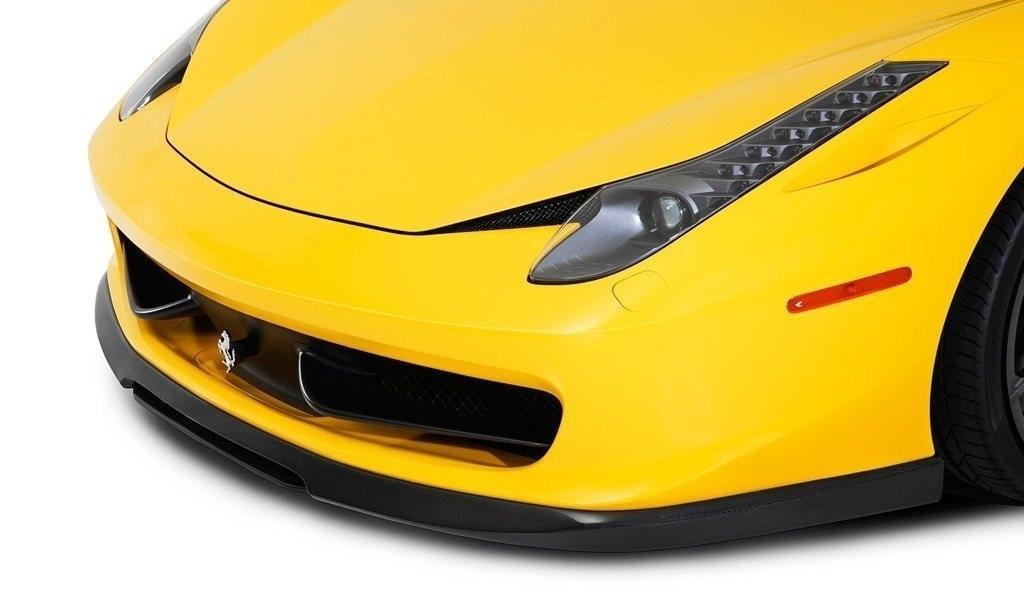 VORSTEINER STYLE CARBON front center splitter for Ferrari 458 Italia new model