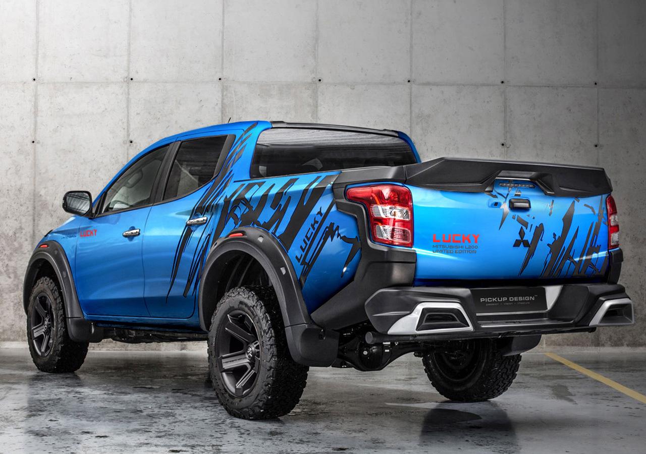 Carlex Design body kit for Mitsubishi L200 LUCKY new model