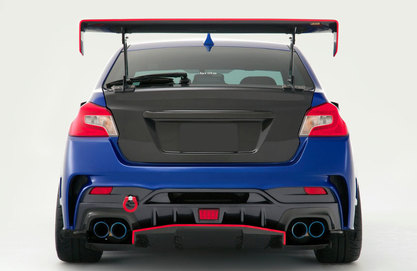 Varis Body Kit  for SUBARU WRX STI&S4 VAB/VAG ARISING  new model