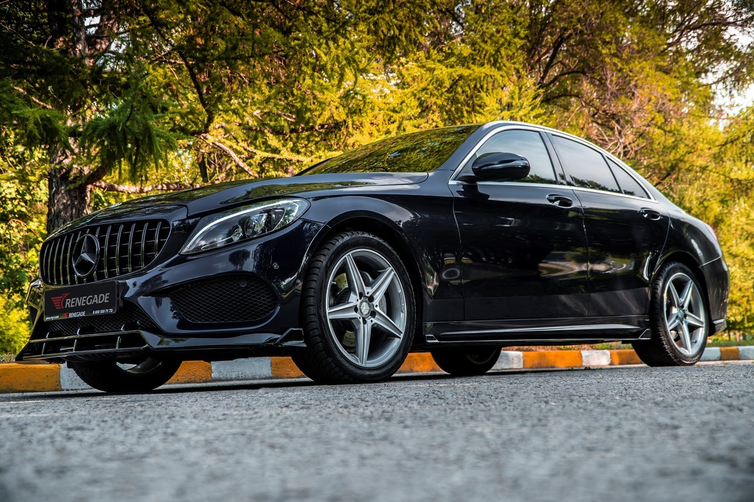 Renegade body kit for Mercedes Benz C-Class W205 new model