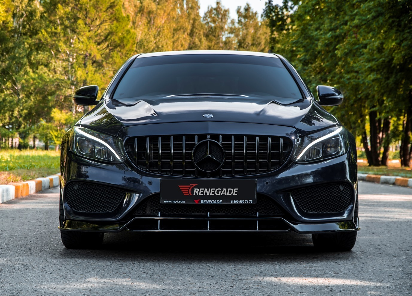 Renegade body kit for Mercedes Benz C-Class W205 carbon