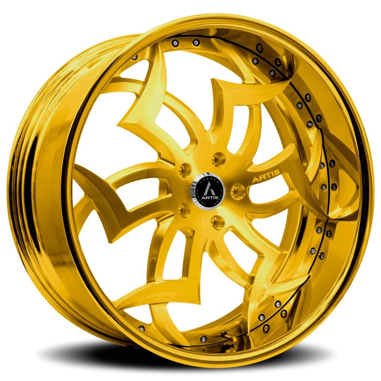 Artis Medusa forged wheels