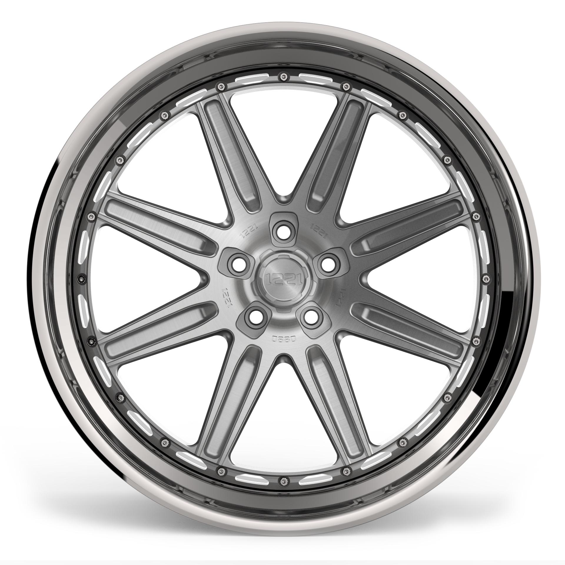1221 Wheels 0880 AP3X APEX3.0 forged wheels