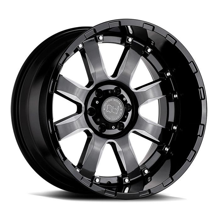 Black Rhino Sierra light alloy wheels