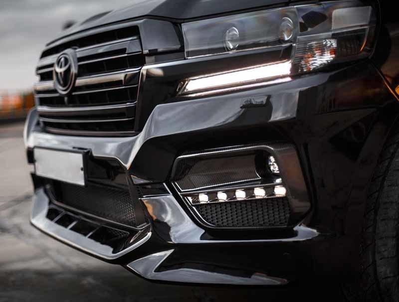 Renegade body kit for Toyota Land Cruiser 200 new model