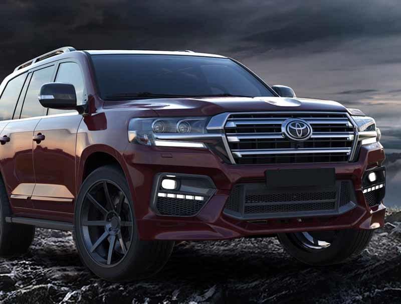 Renegade body kit for Toyota Land Cruiser 200 carbon