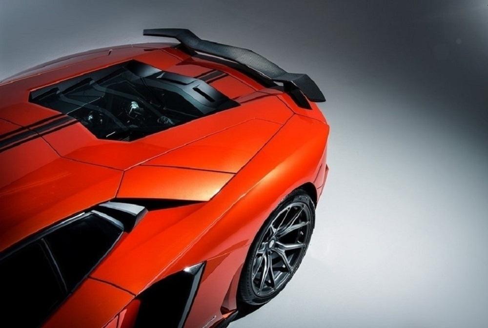 VORSTEINER STYLE CARBON wing spoiler for Lamborghini Aventador new model