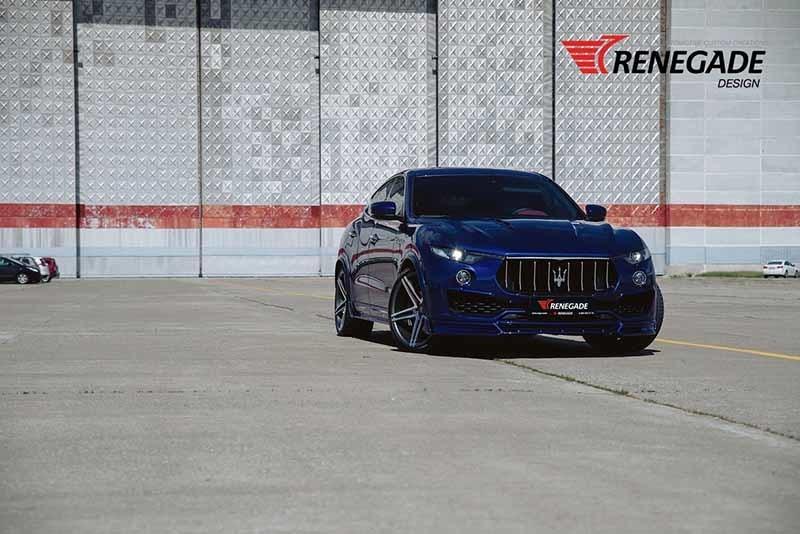 Renegade body kit for Maserati Levante carbon