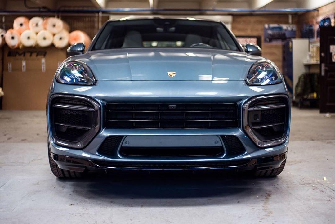 MTR Design Body Kit for Porsche Cayenne Coupe