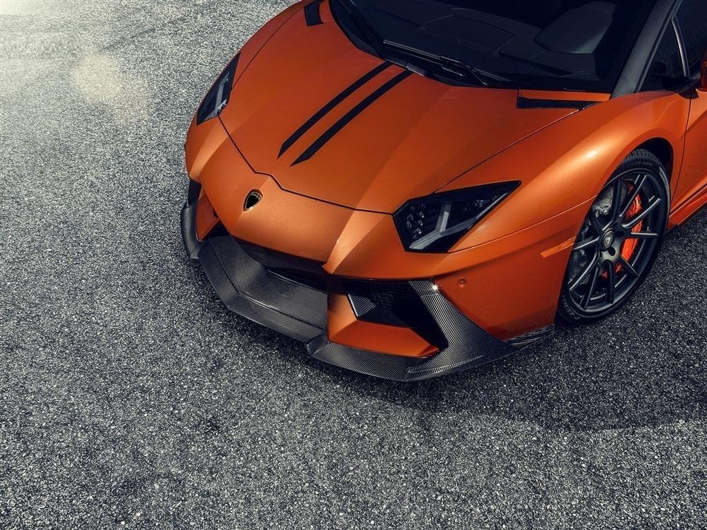 VORSTEINER STYLE CARBON front SPOILER FOR  Lamborghini Aventador new model