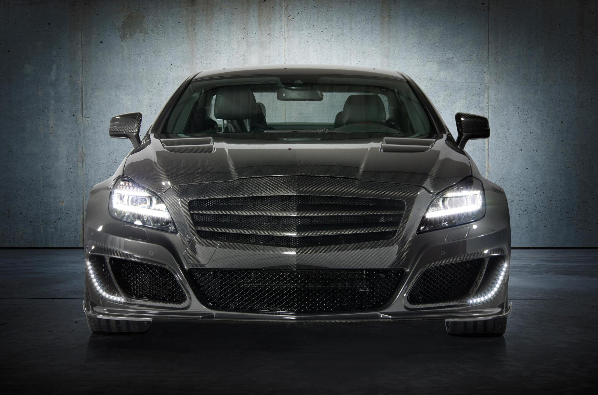 Mansory body kit for Mercedes-Benz CLS latest model