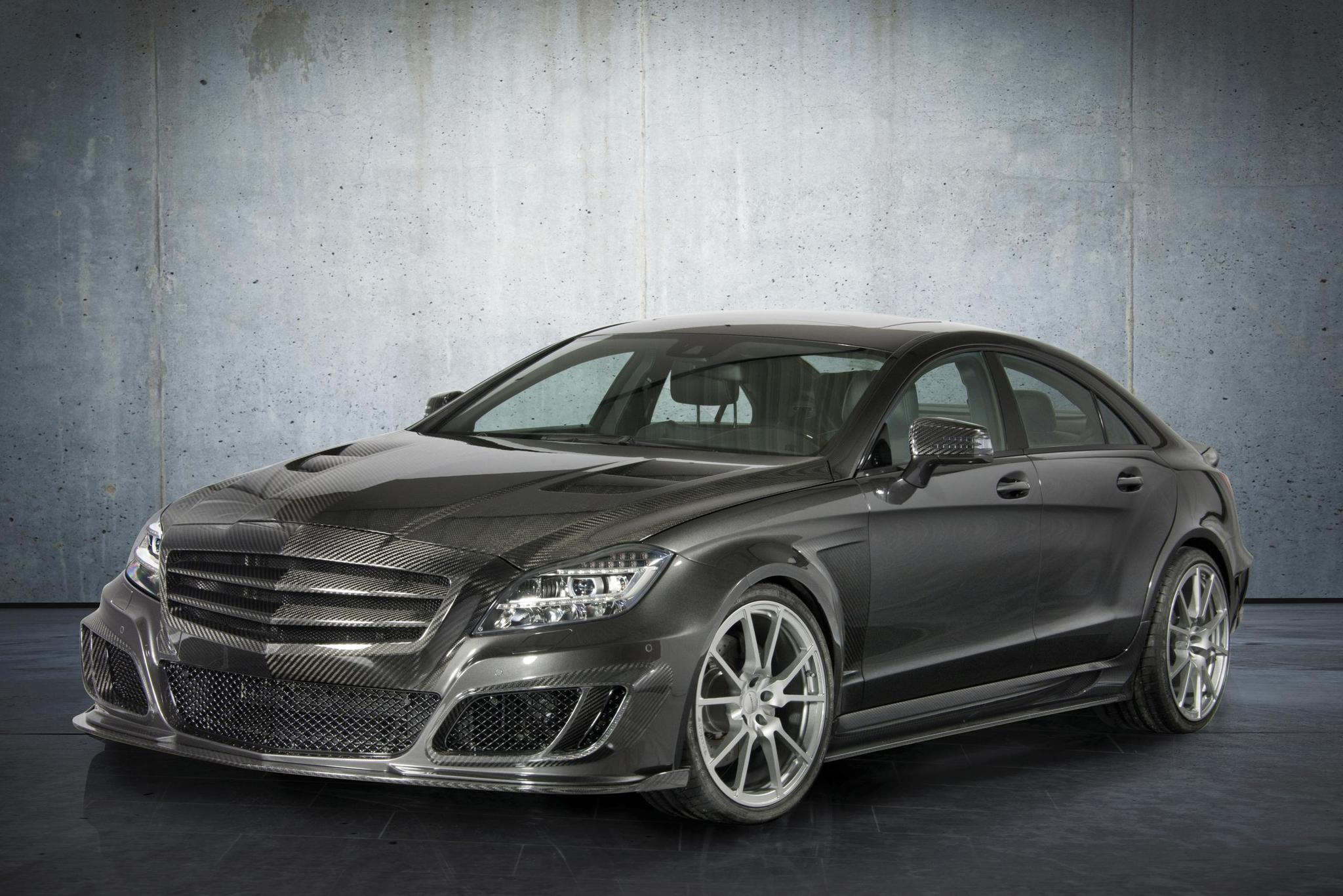 Mansory body kit for Mercedes-Benz CLS new model
