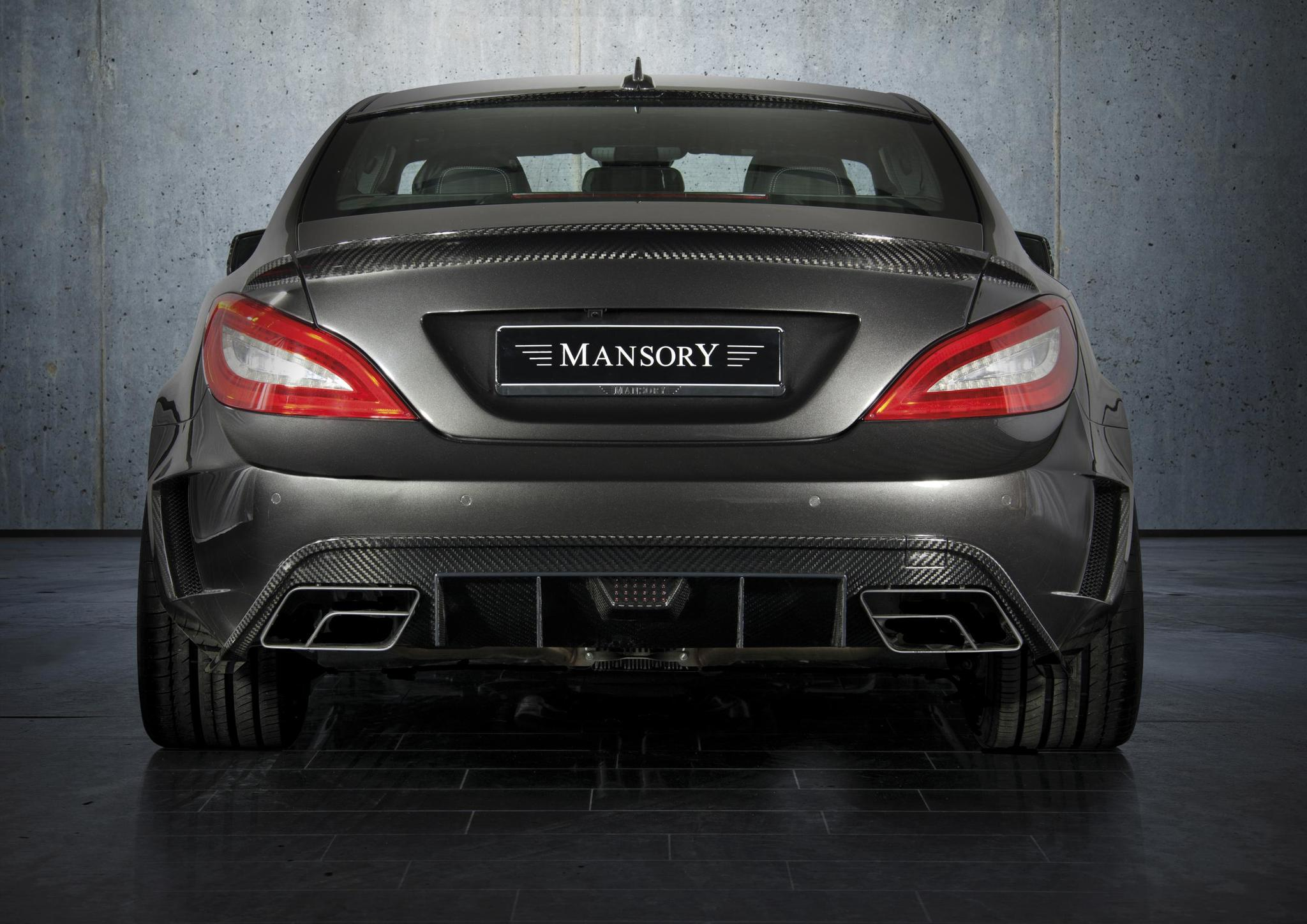 Mansory body kit for Mercedes-Benz CLS  new style