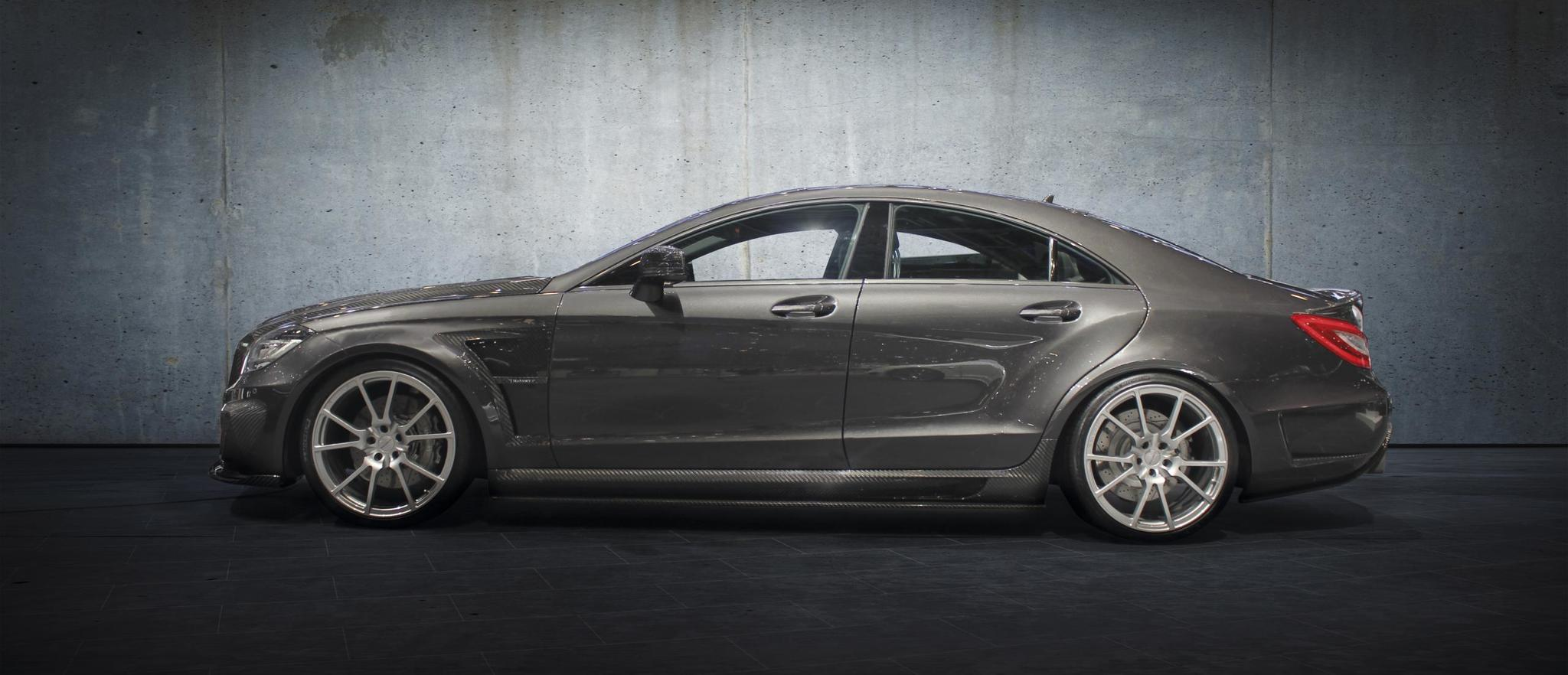 Mansory body kit for Mercedes-Benz CLS carbon