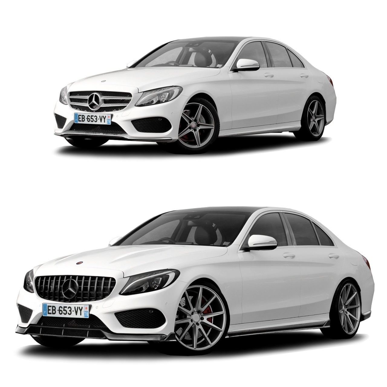 Renegade body kit for Mercedes Benz C-Class W205 latest model