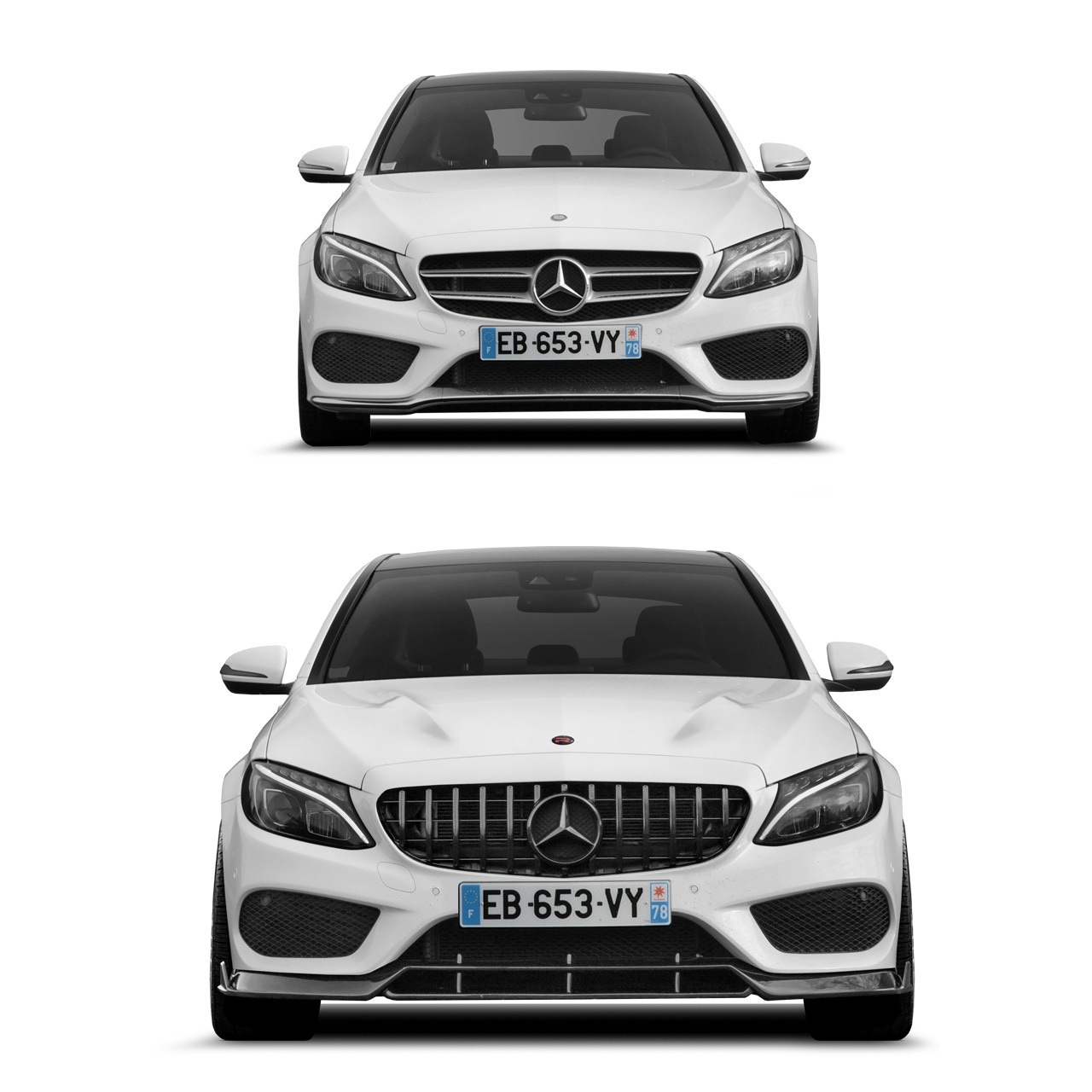 Renegade body kit for Mercedes Benz C-Class W205 new style