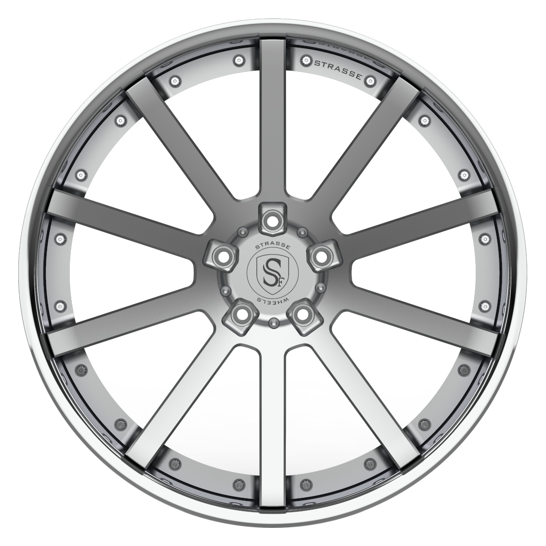 Strasse  S10 DEEP CONCAVE 3 Piece Forged Wheels