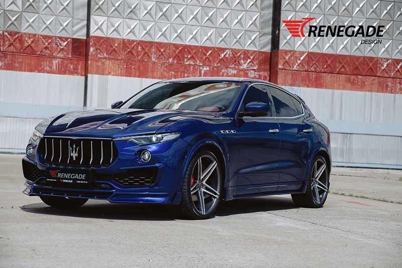 Renegade body kit for Maserati Levante latest model