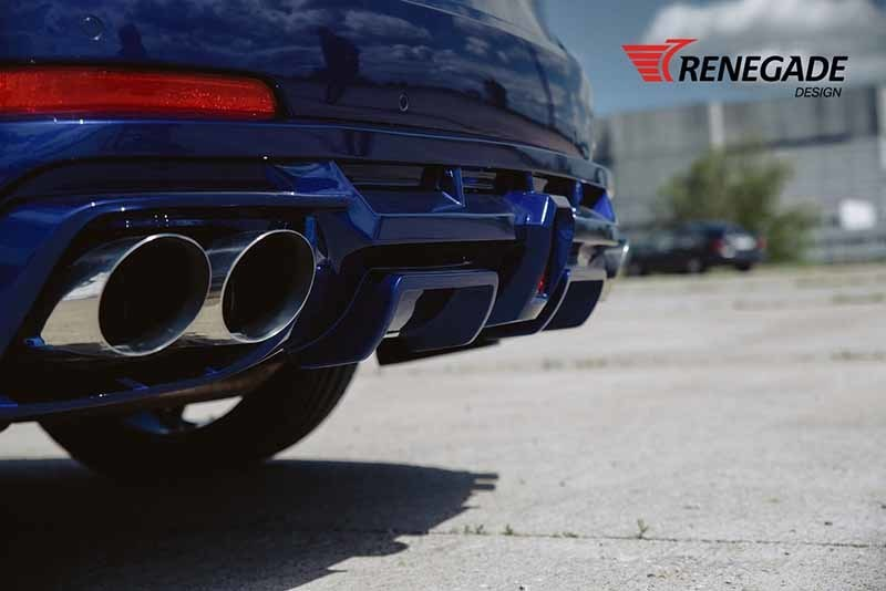 Renegade body kit for Maserati Levante new style