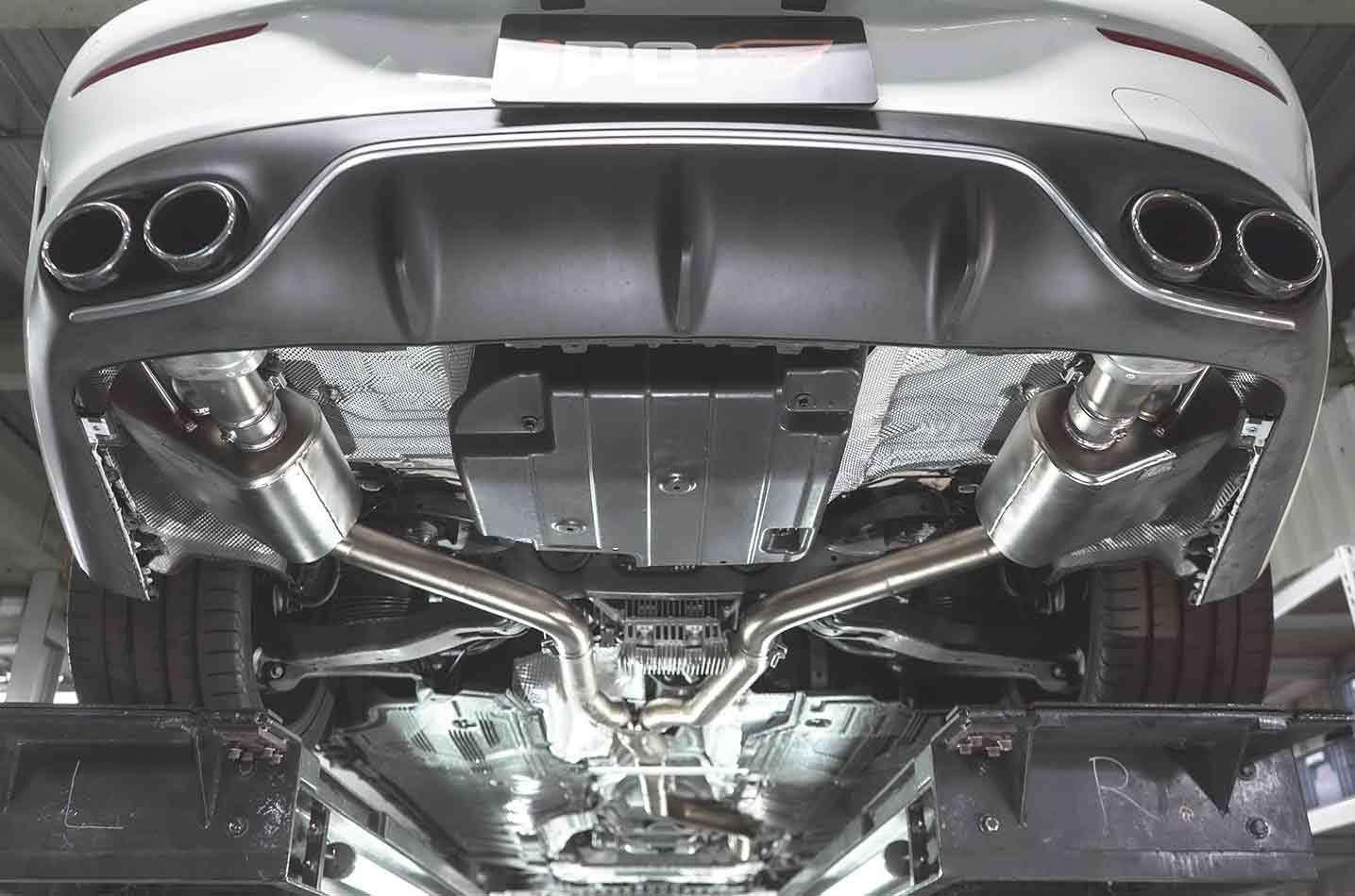 IPE exhaust system for Mercedes-Benz E43/E400/E450(C238)