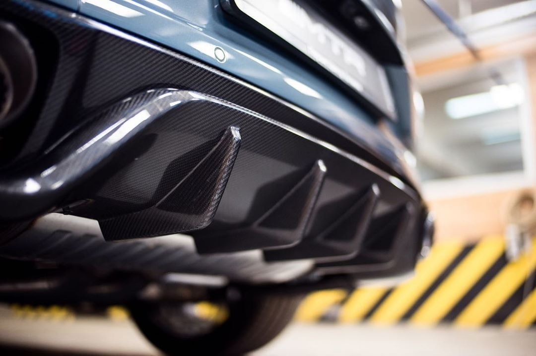 Carbon Body kit for new Porsche Cayenne Coupe