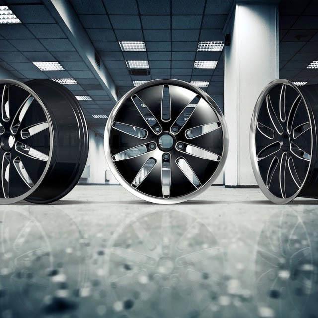 Solomon Alsberg Manchester forged wheels