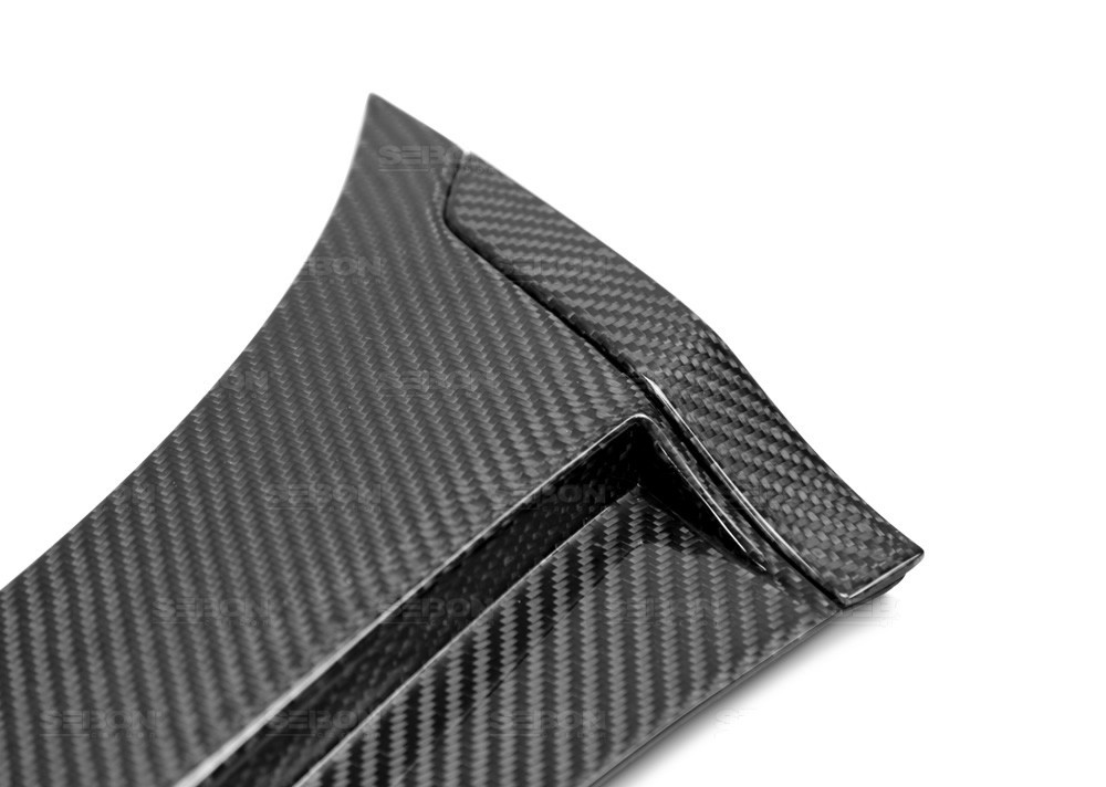 SEIBON CARBON FIBER FENDER CAPS FOR SUBARU WRX / STI new style