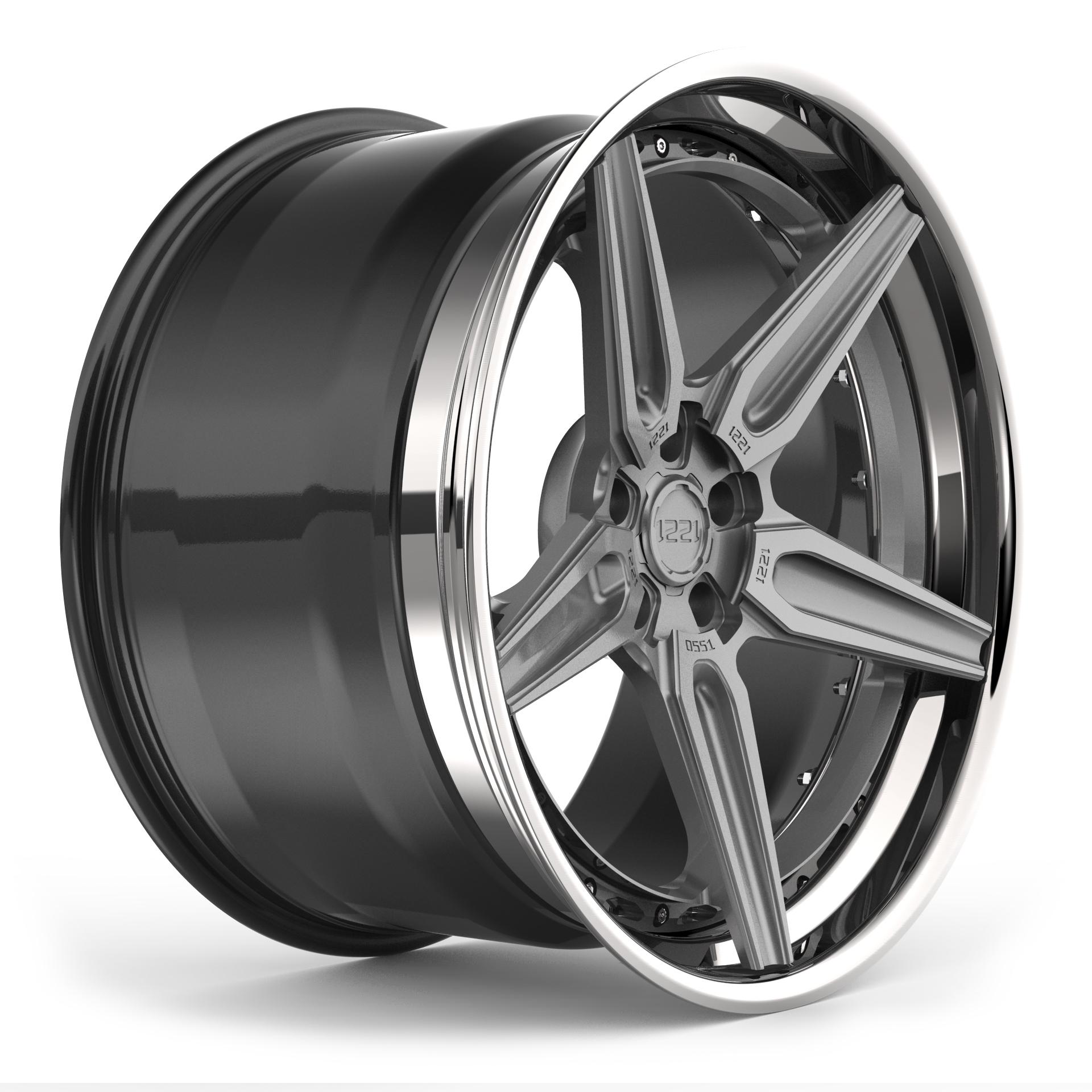 1221 Wheels 0551 AP3LX APEX3.0 forged wheels