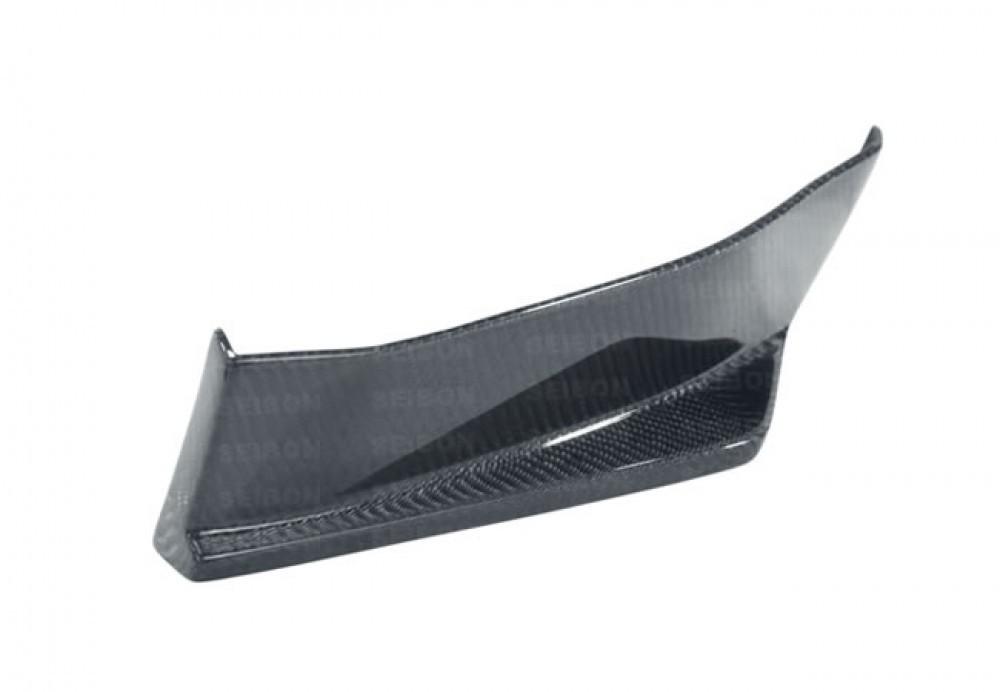 SEIBON KC-STYLE CARBON FIBER REAR LIP FOR  SCION FRS / SUBARU BRZ latest model