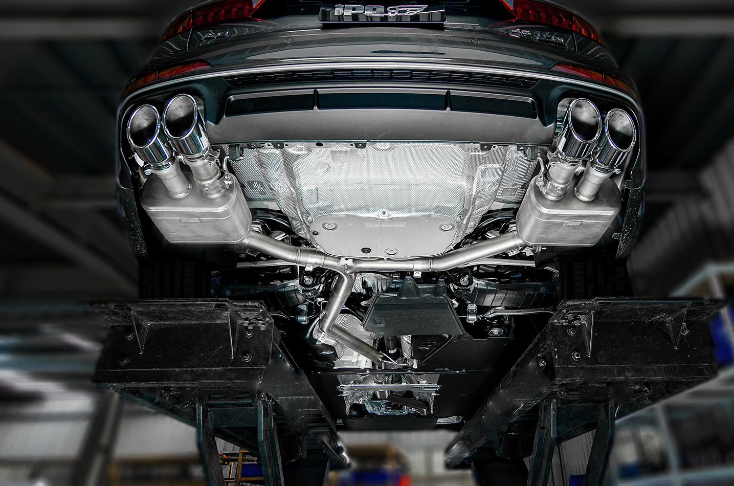 IPE exhaust system for Audi A6 / A7 45 TFSI (C8)