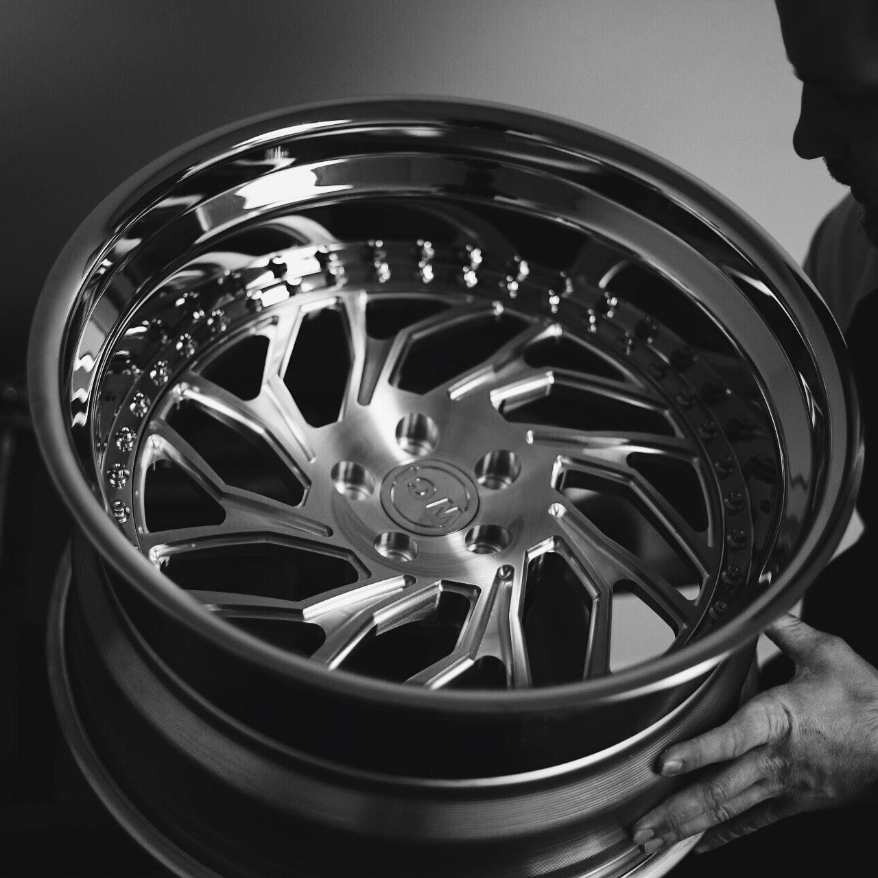 WATERCOOLED JB1 forged wheels