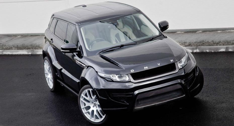 Onyx body kit for Range Rover Evoque