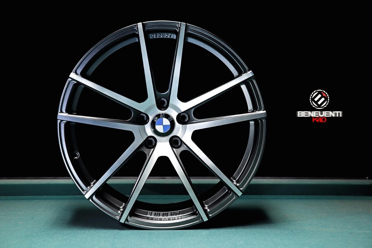 Beneventi K4.0 forged wheels