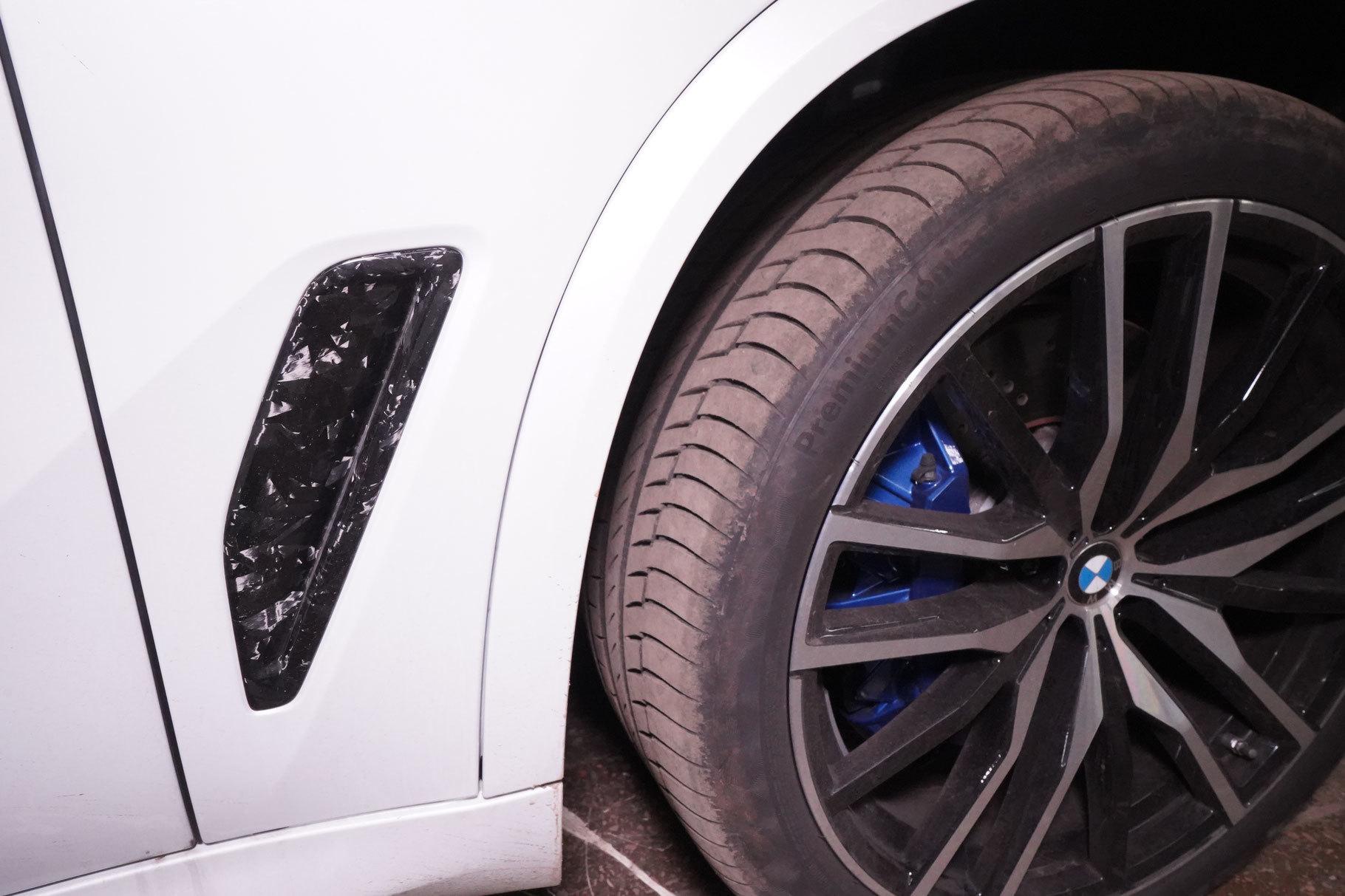Hodoor Performance Carbon fiber fenders intake frames BMW X5 G05